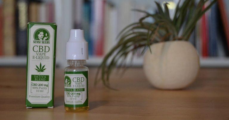Test du E-liquide CBD Sensi Seeds (200mg)