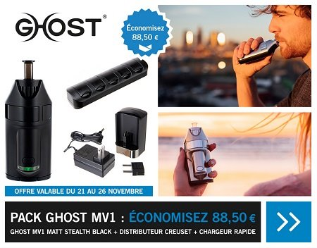 banniere pack Ghost MV1 vaposhop black friday
