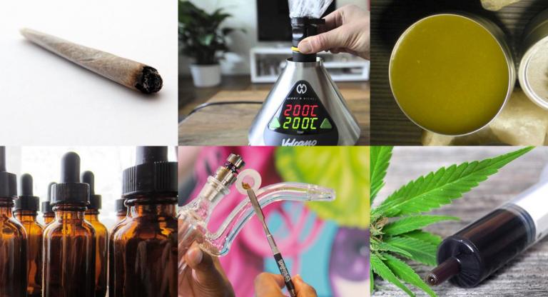 Les méthodes de consommation du cannabis